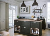 Wilton Oakgrain Graphite Kitchen